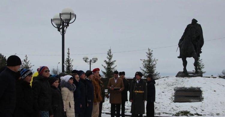 В Башкирии состоялся митинг, посвящённый 75-годовщине начала Сталинградского разгрома немецко-фашистских войск