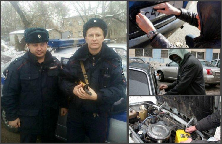 В Уфе сотрудники Росгвардии задержали подозреваемых в краже автомобильных аккумуляторов и госномеров