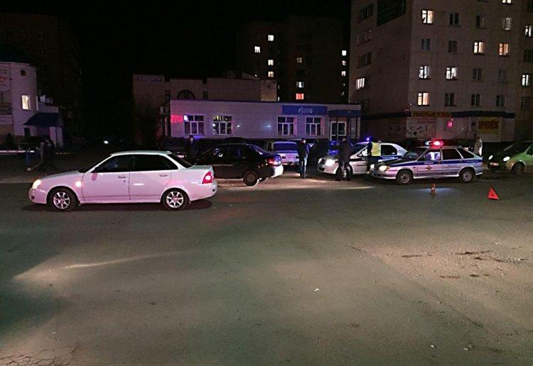В Башкирии автомобиль сбил молодую женщину