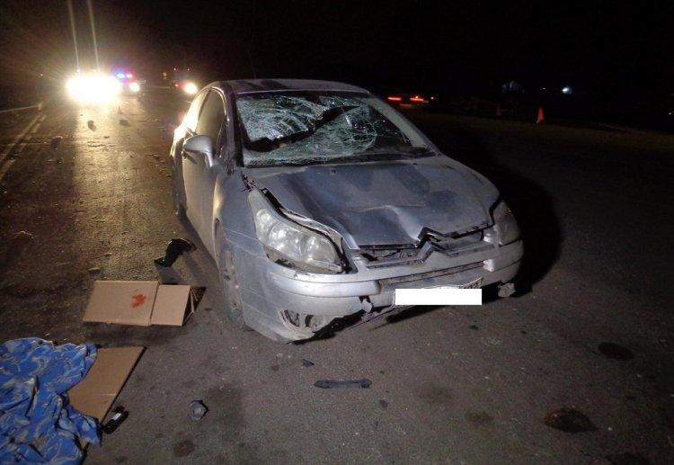 В Уфе автомобиль сбил двух пенсионеров