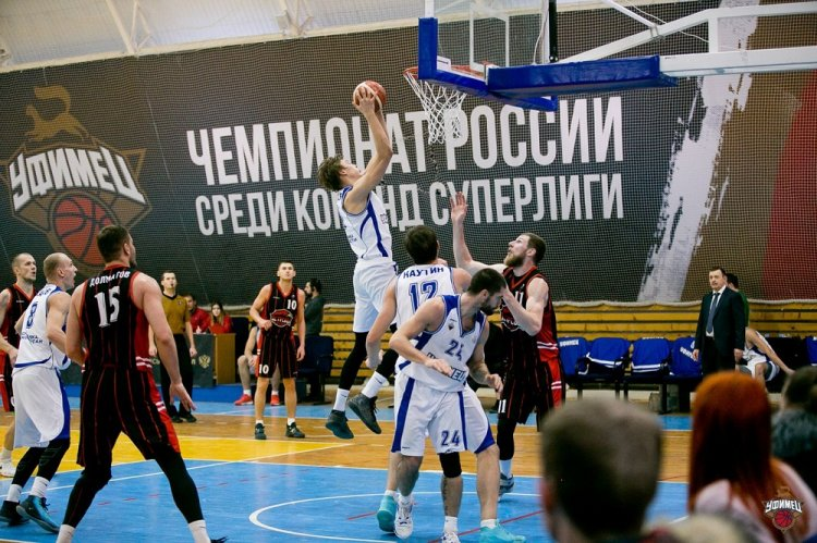 «Уфимец» одерживает две победы над «Чебоксарскими Ястребами»