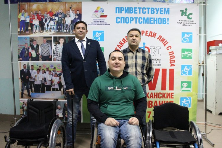 В Уфе еще четыре ветерана боевых действий получили современные инвалидные коляски фонда «Память поколений»