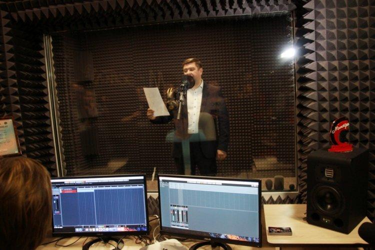 В Кумертау открылась первая профессиональная студия звукозаписи