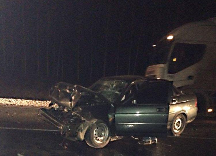 ДТП в Башкирии: «Приора» столкнулась с грузовиком