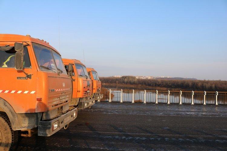 Мост через реку Белая на автомобильной дороге М-5 Урал в Башкирии прошел испытания