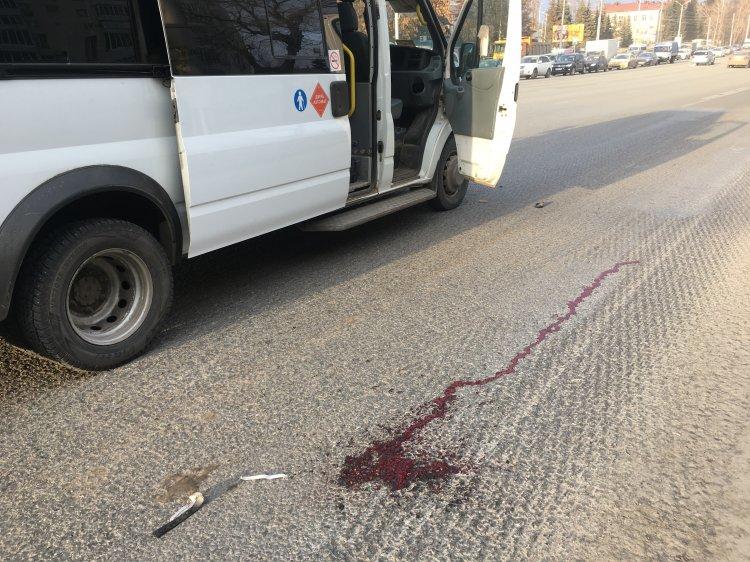 ВУфе напроспекте Октября шофёр маршрутки сбил первоклассника