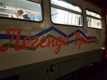 Пригородный поезд «Легенда Урала» доставит туристов на популярный горнолыжный  курорт