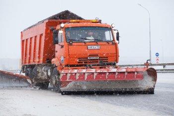 Более 85 единиц дорожно-эксплуатационной техники работают на трассах в Башкирии