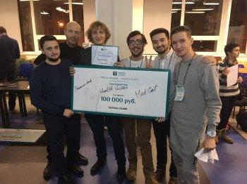 Команда из Стерлитамака и Сибая победила на марафоне программистов в Санкт-Петербурге