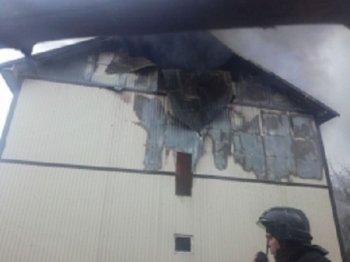 В столице Башкирии на бумажном складе произошел крупный пожар