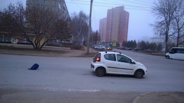 В Уфе водитель на «Peugeot» сбил женщину