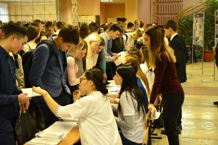 Школьникам рассказали о правилах приема  в вуз Стерлитамака в 2018 году