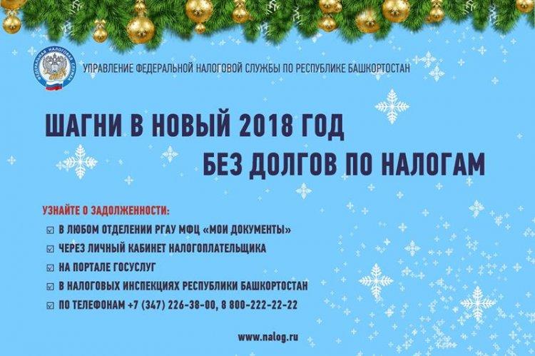 УФНС России по РБ: Проверьте налоговую задолженность перед выездом за границу
