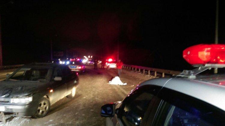 В Уфе на Демском шоссе насмерть сбили 59-летнего дорожного рабочего
