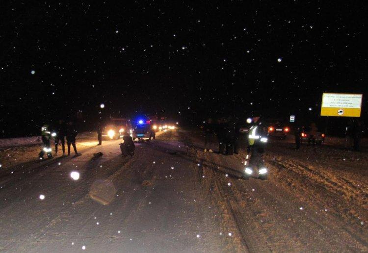 В Башкирии водитель на Chevrolet Cruze насмерть сбил женщину