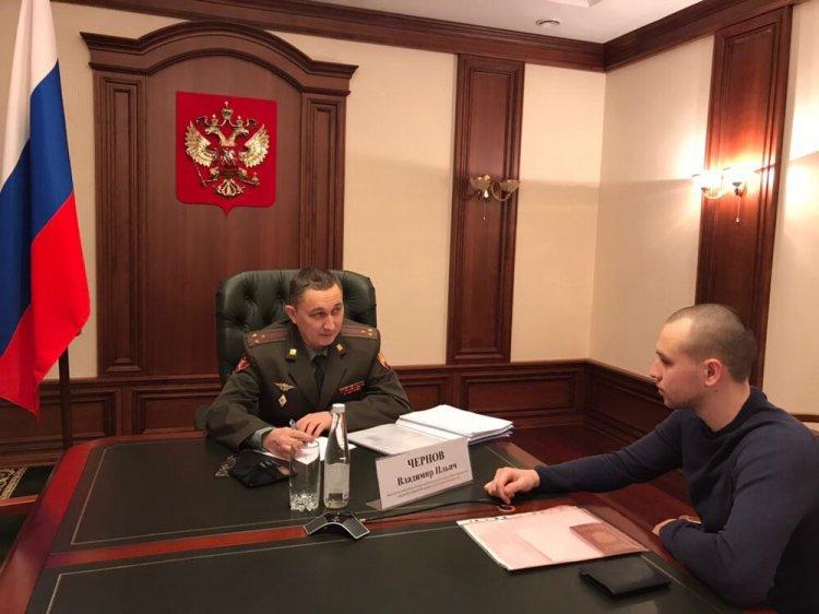 В Уфе Врио начальника управления Росгвардии по Республике Башкортостан провел личный прием граждан