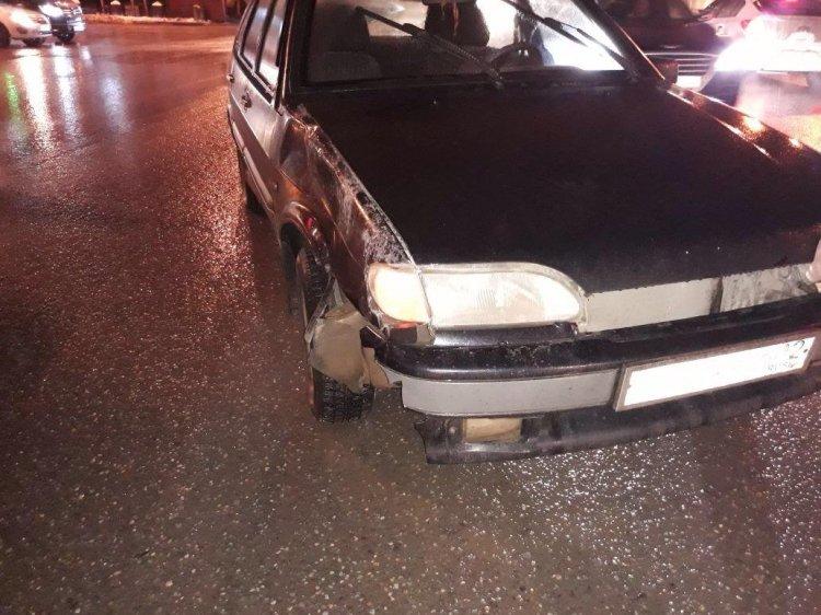В Уфе автомобиль сбил 12-летнего ребенка на пешеходном переходе