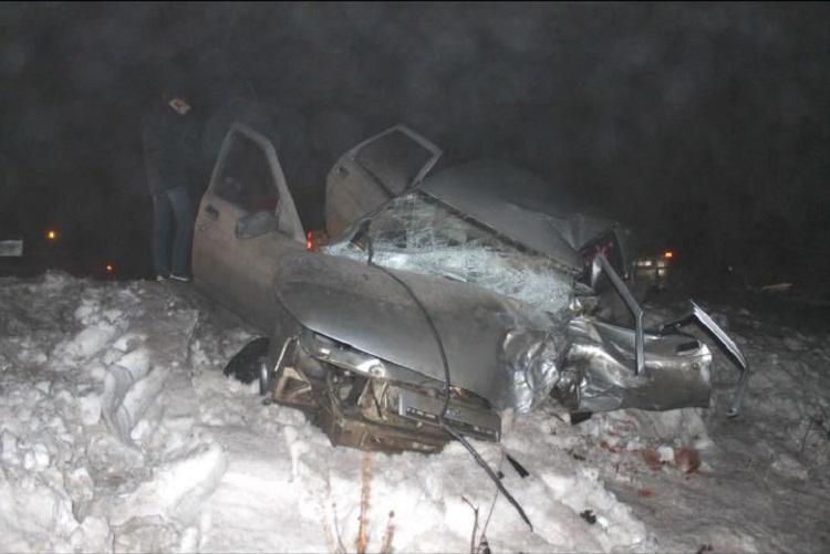 Смертельное ДТП: из-за сильного тумана столкнулись Nissan X-Trail и ВАЗ-2110
