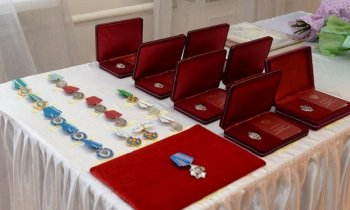 Михаил Бабич вручил государственные награды жителям Башкирии