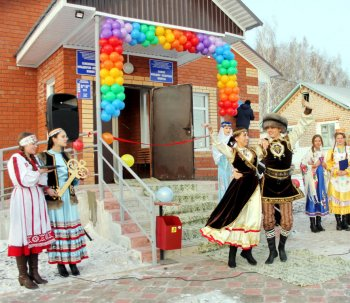 В Аургазинском районе Башкирии открыли новый фельдшерско-акушерский пункт