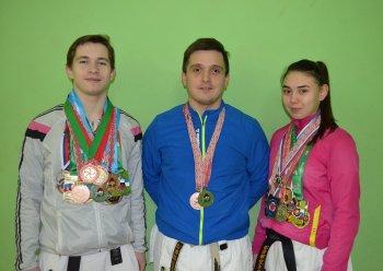 Спортсмены из Стерлитамака победили на чемпионате мира по каратэ