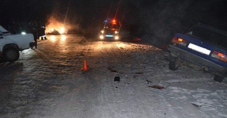 В Башкирии в ДТП с двумя ВАЗами погиб 51-летний мужчина