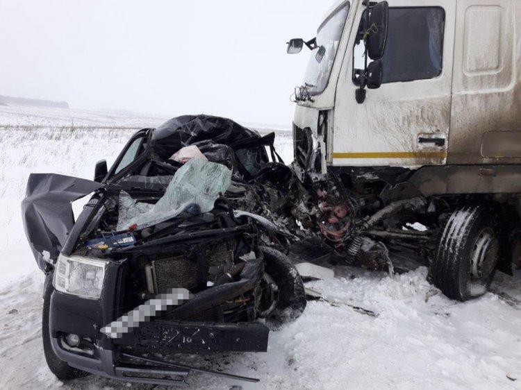 Смертельное ДТП: в Башкирии столкнулись Ford Ranger и МАЗ
