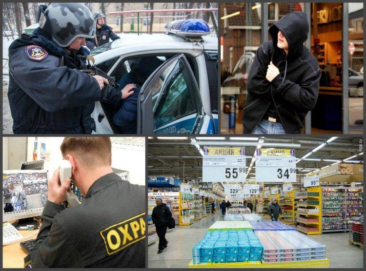 В Уфе сотрудники Росгвардии задержали 18-летнего парня, который пытался похитить автомагнитолу с прилавка