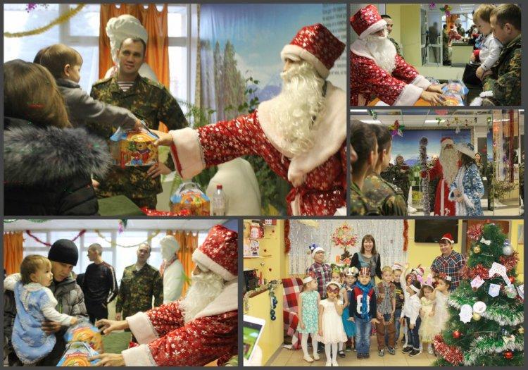 В Башкирии для детей военнослужащих Росгвардии и их сослуживцев, погибших при исполнении воинского долга, прошли новогодние утренники