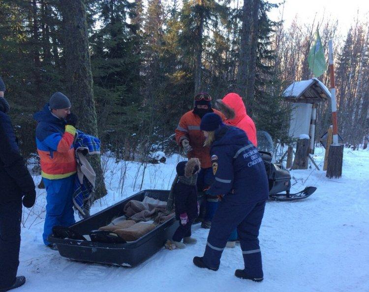 Дети из Башкирии получили обморожение во время отдыха на природе