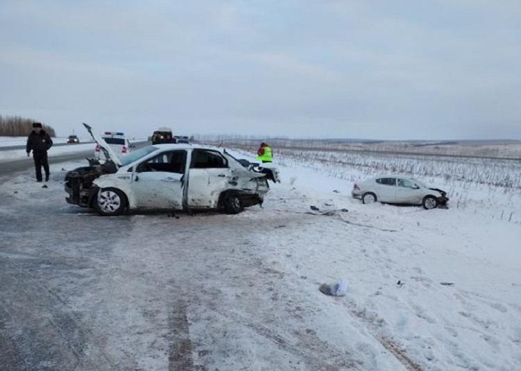 Смертельное ДТП: в Башкирии столкнулись Kiа Rio и Opel Astra