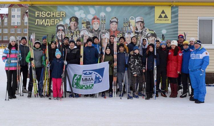 Биатлонист Максим Чудов провел тренировку для спортсменов Федерации СБЕ (ММА) Республики Башкортостан