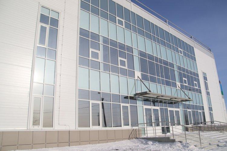 Строительство Ледовой арены в Кумертау выходит на финишную прямую