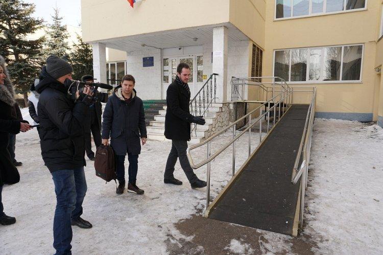 «Молодая Гвардия» проверила доступность избирательных участков для инвалидов  в Башкирии