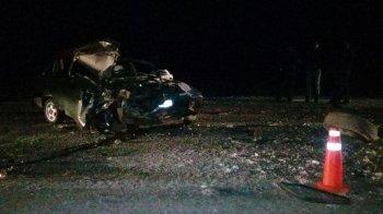 В Башкирии двое молодых парней на «Ладе» погибли, врезавшись в грузовик