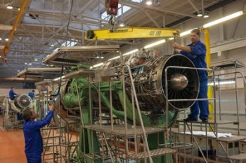 Владимир Путин посетил завод по производству авиационных двигателей в Уфе