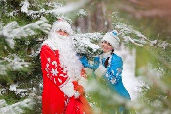 Как ни странно, но сегодня день Деда Мороза и Снегурочки