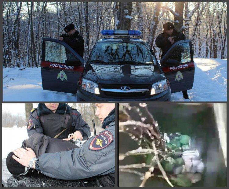 В Уфе сотрудники вневедомственной охраны задержали подозреваемого  в  бесконтактном сбыте наркотиков