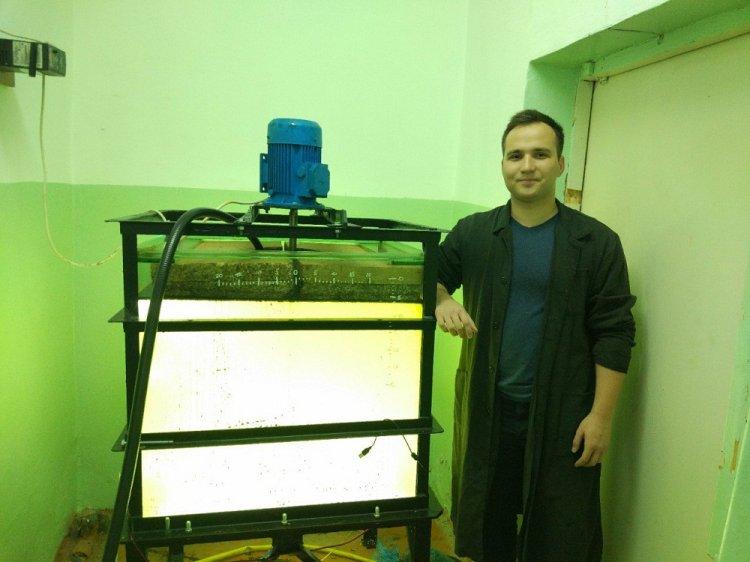 Молодой ученый из Уфы создает аппаратный комплекс для удаления нефтяных разливов из-подо льда