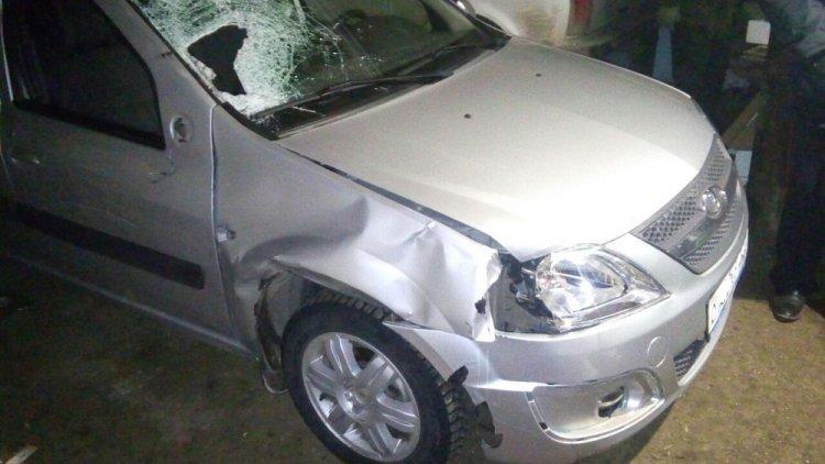 В Башкирии водитель задавил человека и скрылся