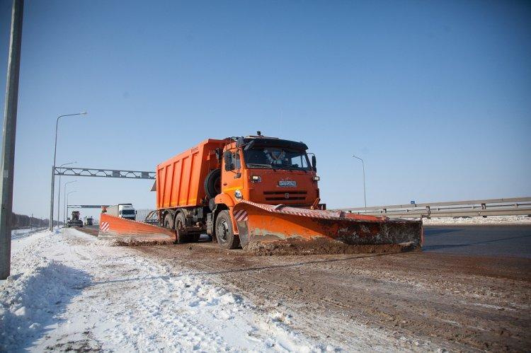 Бесперебойный проезд по федеральным трассам ФКУ Упрдор «Приуралье» обеспечивают 130 единиц спецтехники