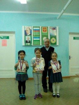 В Баймаке прошел  III этап Кубка Зауралья по русским шашкам среди детей до 14 лет