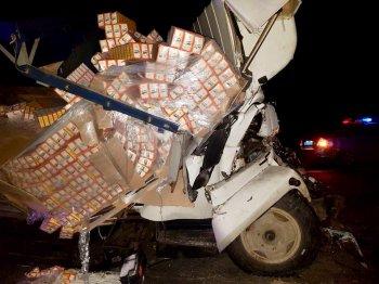 Жуткое двойное ДТП произошло на трассе в Башкирии, есть жертвы