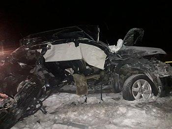 В страшном ДТП в Башкирии погибли четыре человека