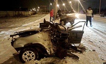 Жуткое ДТП в Стерлитамаке: автомобиль разорвало на две части