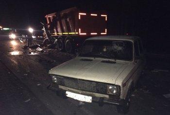 В страшном ДТП в Башкирии с фурой и «ВАЗом» погиб 57-летний водитель «КамАЗа»