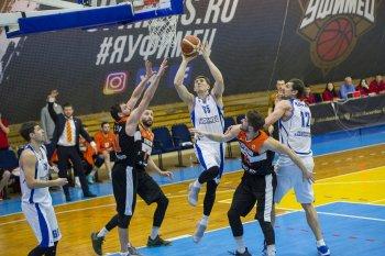 Баскетбольный клуб «Уфимец» встретился с лидером Суперлиги-2