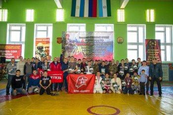 В Башкирии бойцы Росгвардии приняли участие в турнире по рукопашному бою памяти погибшего сослуживца А.Галяуова