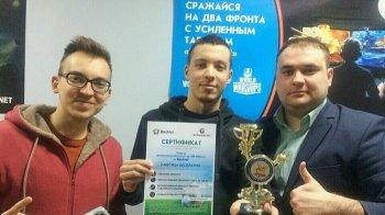 Артур Шайбеков стал победителем «Кубка Азамата Засеева» по интерактивному футболу