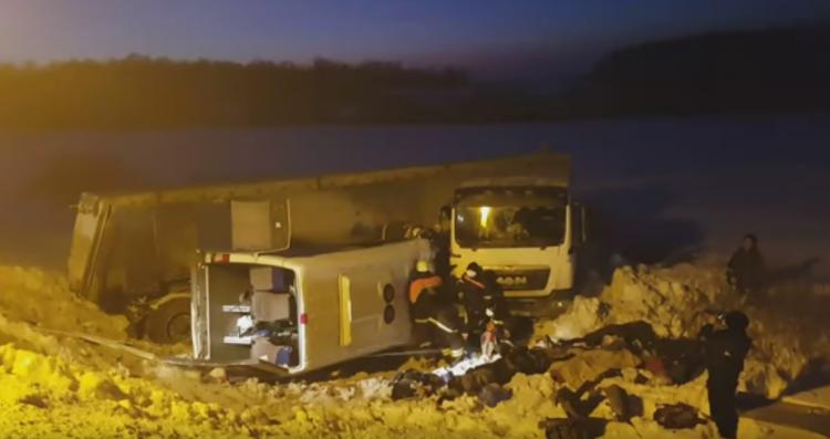 Суд арестовал водителя грузовика в Башкирии после ДТП с 9 жертвами